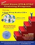 Postal Exam 473 & 473 C Training Program With 2 CDs
