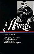 Howells: Novels 1875-1886 (Library of America) Cover