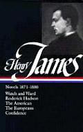 James: Novels 1871-1880 (Library of America) Cover