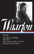 Wharton: Novels (Library of America) Cover