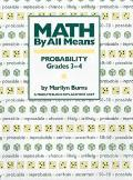 Math By All Means Probability Grades 3 4