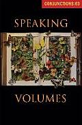Conjunctions: 63, Speaking Volumes