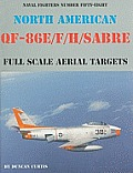North American QF-86E/F/H Sabre: Full Scale Aerial Targets
