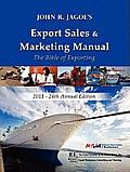 Export Sales & Marketing Manual 2011
