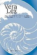 Vera Lex: Journal of the International Natural Law Society