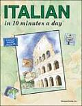 Italian in 10 Minutes a Day (10 Minutes a Day) Cover