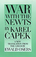 War with the Newts Cover