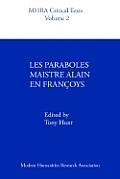 Les Paraboles Maistre Alain En Franoys