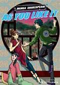 As You Like It Manga Shakespeare