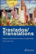 Traslados/Translations: Essays on Latin America in Honour of Jason Wilson Cover