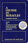 A Course in Miracles: Combined Volume Cover