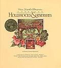 Hollyhocks & Radishes Mrs Chards Almanac Cookbook