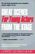 Great Scenes for Young Actors From Stage (92 Edition)