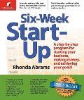 Six Week Start Up A Step By Step Program