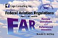 Federal Aviation Regulations Parts 1, 61, and 91: Review Questions and Referenced Answers [With Ring for Holding Cards]