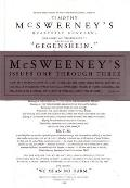 Mcsweeneys Issues One Through Three 3 Volumes