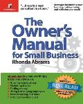 Owners Manual For Small Business