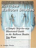 How To Sew Balloon Shades