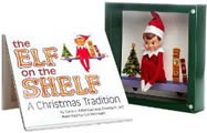 Elf on the Shelf With Blue Eyed Boy Elf Toy