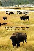 Open Range: Poetry of the Reimagined West