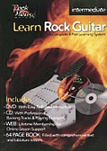 Learn Rock Guitar Intermediate With CDWith DVD