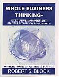 Whole Business Thinking: Executive Management