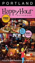 Portland Happy Hour Guidebook 2013 7TH Edition Cover