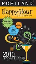Portland Happy Hour Guidebook 2010 4th edition
