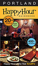 Portland Happy Hour Guidebook 2011 5TH Edition Cover
