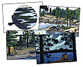Northwoods Leave Only Ripples: A Canoe Country Sketchbook [With 8 Envelopes]