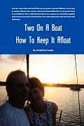 Two on a Boat How to Keep It Afloat