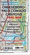 Cheeseboro-Palo Comado Canyons Trail Map