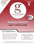 Sentence Correction GMAT Preparation Guide (Manhattan GMAT Preparation Guide: Sentence Correction) Cover