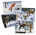 Winter Wildlife Note Cards