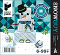 Snowguy/Snowgal: Paper Toy Snowman Kit