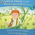 Jack and the Beanstalk/ Jack y Los Frijoles Magicos: Bilingual Fairy Tales (Level 3)