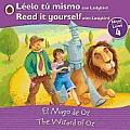 The Wizard of Oz/El Mago de Oz: Bilingual Fairy Tales (Level 4)