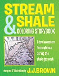 Stream and Shale Coloring Storybook