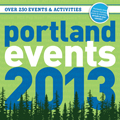 Portland Events 2013 Wall Calendar Cover