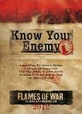 Know Your Enemy: Late War Edition 2012