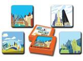 Chicago Coaster Set (Alphabet Cities)