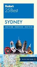 Full-Color Travel Guide #6: Fodor's Sydney 25 Best