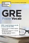 GRE Power Vocab (Graduate School Test Preparation)