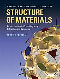 Structure of Materials An Introduction to Crystallography Diffraction & Symmetry