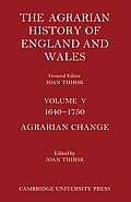 The Agrarian History of England and Wales - Volume 5 Set
