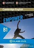 Cambridge English Empower Pre-Intermediate Class DVD