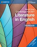 Cambridge IGCSE Literature in English Workbook