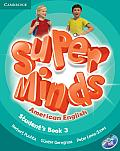 Super Minds American English Level 3 Student's Book with DVD-ROM