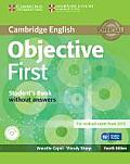 Objective First Student's Book Without Answers [With CDROM]