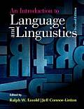 Introduction To Language and Linguistics (2ND 14 Edition)